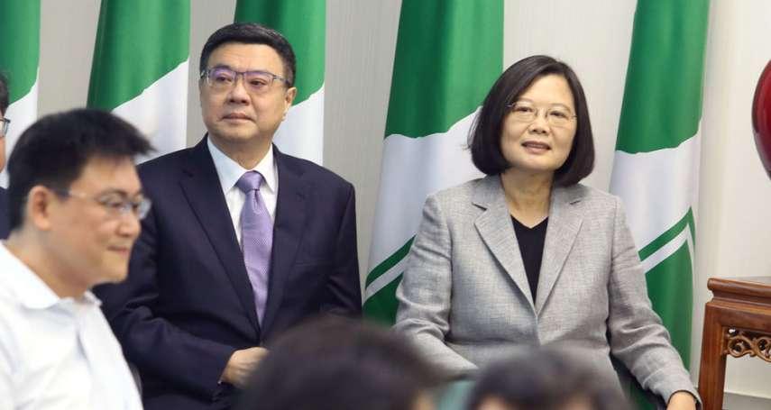 「大師兄」卓榮泰準備重返政壇?