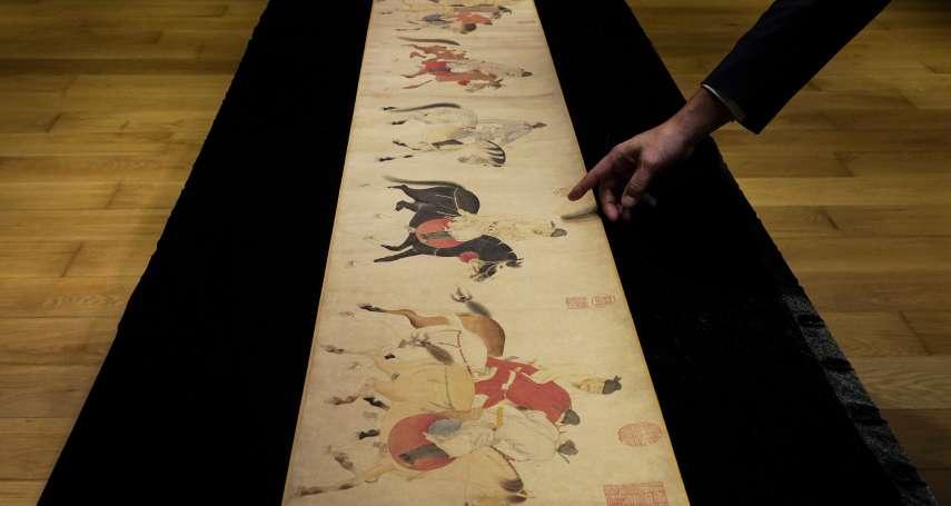 700年名畫天價落鎚!清朝末代皇帝溥儀攜出紫禁城 元代《五王醉歸圖》逾11億成交