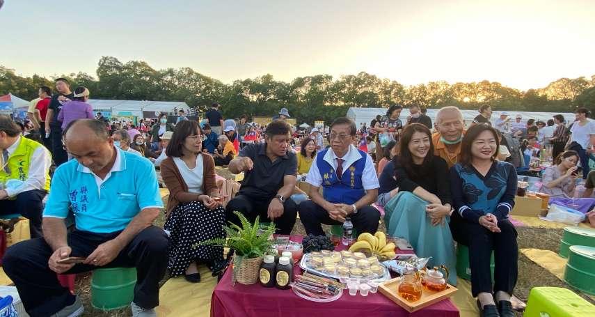 南投茶博開幕首日破2萬遊客 傍晚馬拉桑野餐趣享受時光