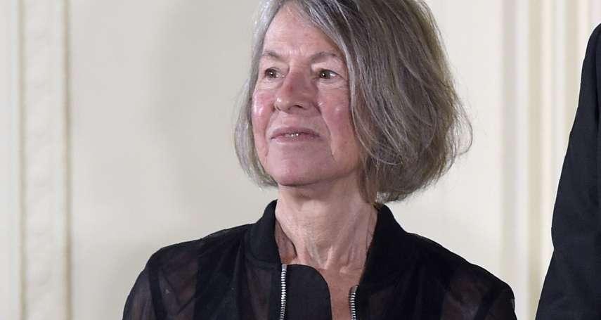 2020年諾貝爾文學獎》「帶有樸素美麗的明確詩意聲音讓個人存在成為普世經驗」 美國女詩人露易絲.格呂克摘下桂冠