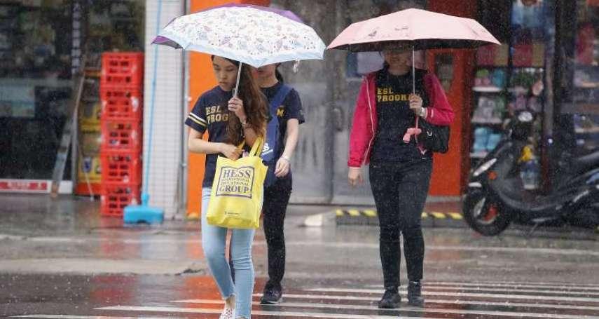 烟花颱風恐帶來致災性降雨!氣象專家吳德榮示警「正朝台灣逼近」,今明兩天全台有雨