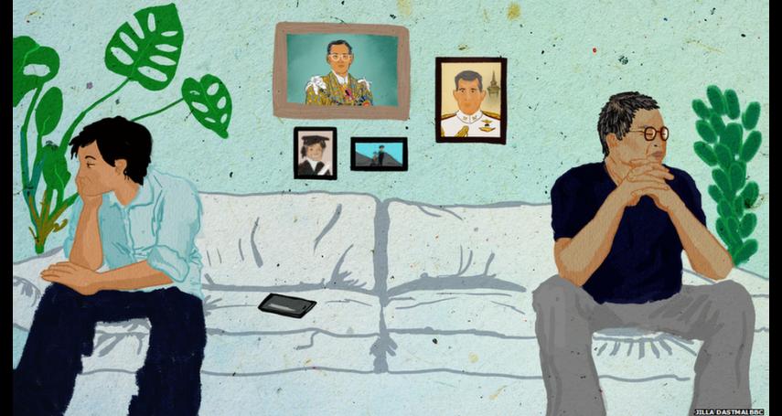 「對國王的愛蒙瞎了父親的眼」君主制之爭在泰國引發的世代分裂