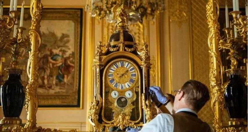 英國夏令時間結束:「一口氣」調校溫莎城堡的400多座時鐘,王室鐘表師得花16個小時