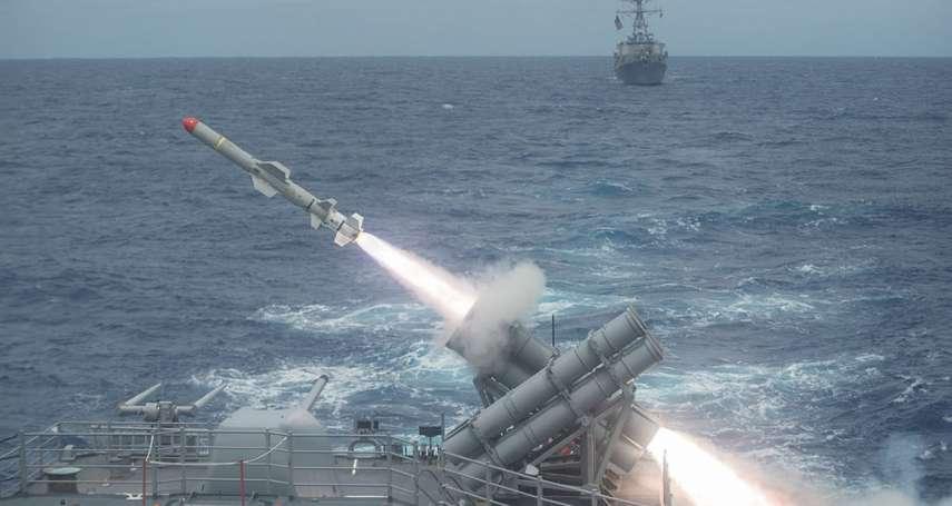 7天內兩度宣布對台軍售!國務院同意出售魚叉反艦飛彈