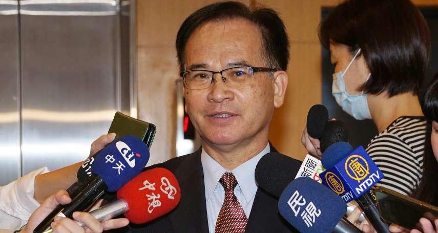 吳釗燮稱台灣不與美建立全面外交 蘇煥智酸:蔡英文對中國很「識相」