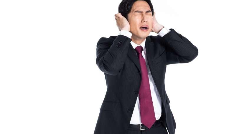 耳鳴原因竟有可能是胃食道逆流!耳鼻喉醫師:三餐不定時、睡前吃消夜都是危險族群