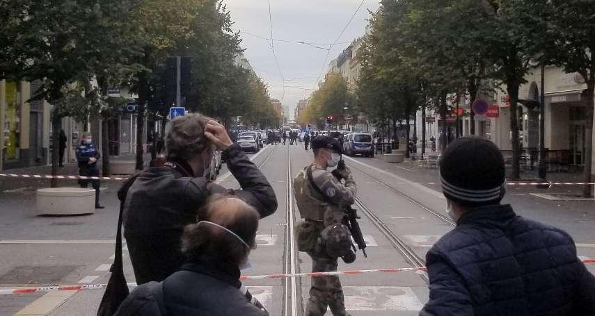 法國再傳斷頭慘案!凶嫌高喊「真主至大」,二女一男淪為刀下亡魂