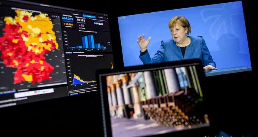新冠疫情告急,德國再度全面封鎖:「歐洲模範生」能否繼續配合禁足?