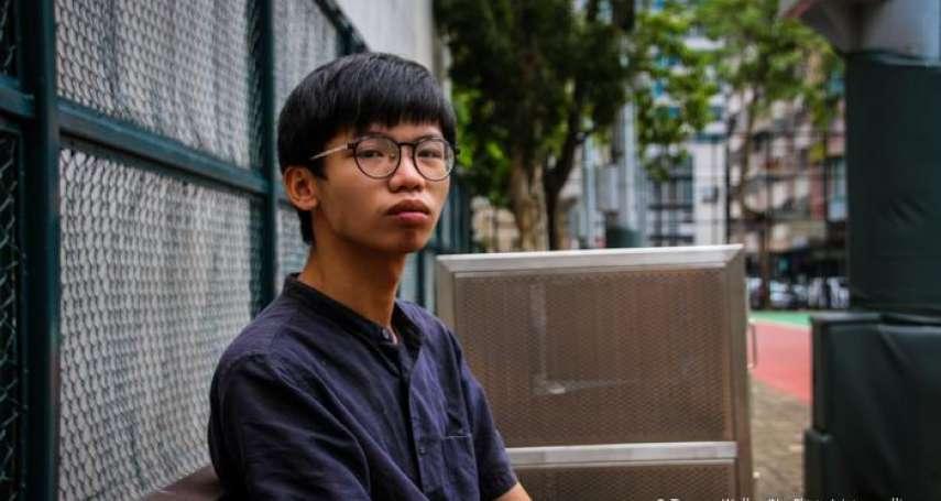 「港版國安法」生效後,遭港府起訴第二人:19歲青年鍾翰林被控「分裂國家」