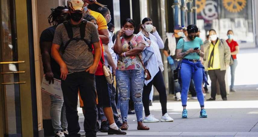 單日逾10萬人染疫!美國新冠確診數再創新高 研究估明年2月死亡人數恐破百萬