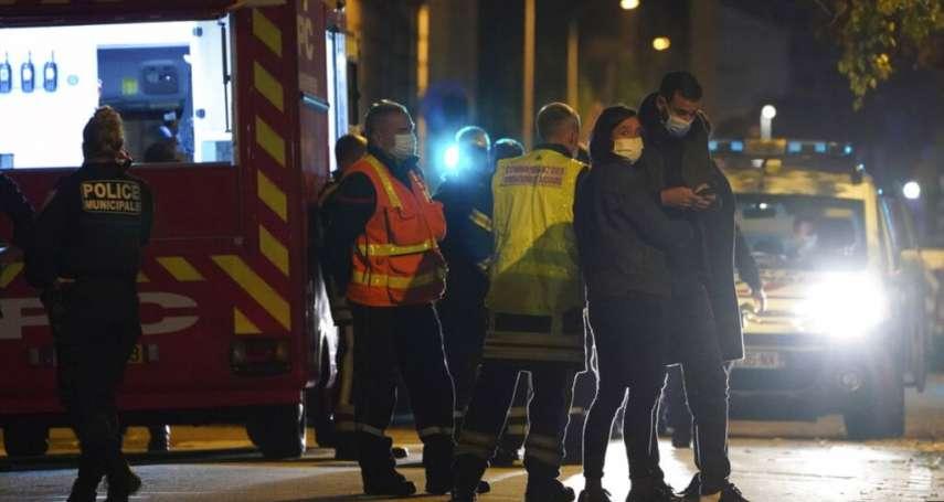 襲擊里昂牧師案》朝受害者胸部開槍嫌犯落網,法國各地高度警戒
