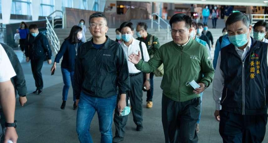台中邁三鐵新紀元!林佳龍「返鄉」宣布捷運綠線將通車