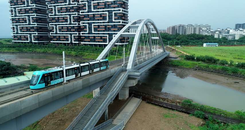 淡海輕軌藍海線15日通車 「特製版」淡水在地點心期間限定開賣