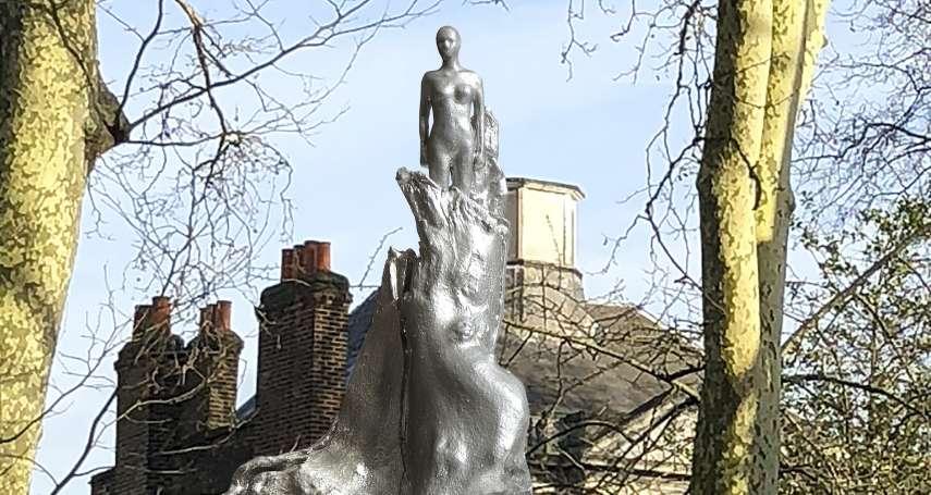 時隔2世紀!英國女性主義先驅瑪莉.沃斯通克拉夫特 全球首座紀念銅像落成