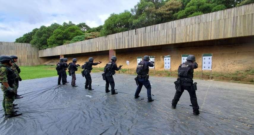 延續海域、海岸反恐戰力 海巡特勤隊「超扎實」儲訓內容罕見曝光