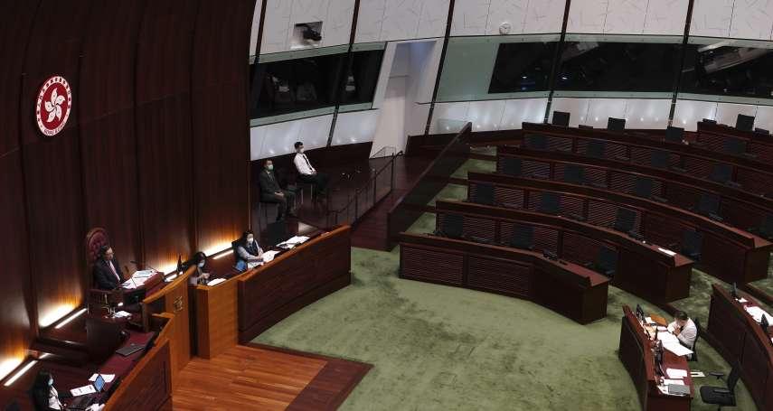 否認香港立法會成橡皮圖章 中國人大常委譚耀宗:泛民派「鬧辭」挑戰北京