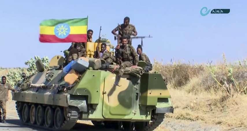 衣索比亞瀕臨內戰 鄰國厄利垂亞首都3度遭攻擊