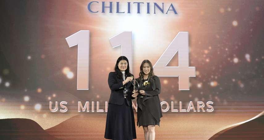 麗豐-KY旗下「克麗緹娜」五度榮獲「台灣前25大國際品牌」  品牌價值達美金1億1400萬元