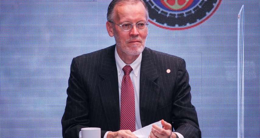 與台灣緊密合作反制獨裁威脅 AIT處長酈英傑:美國會持續對台軍售