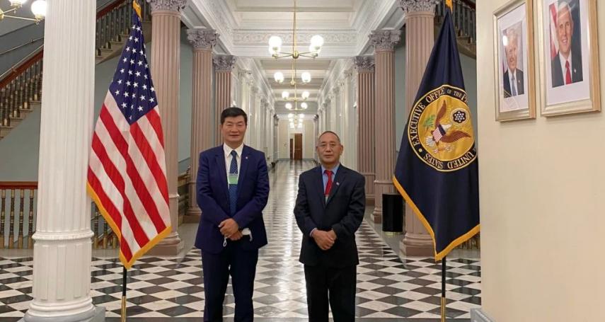美國又讓北京不開心! 60年來頭一遭 西藏流亡政府首長公開訪問白宮