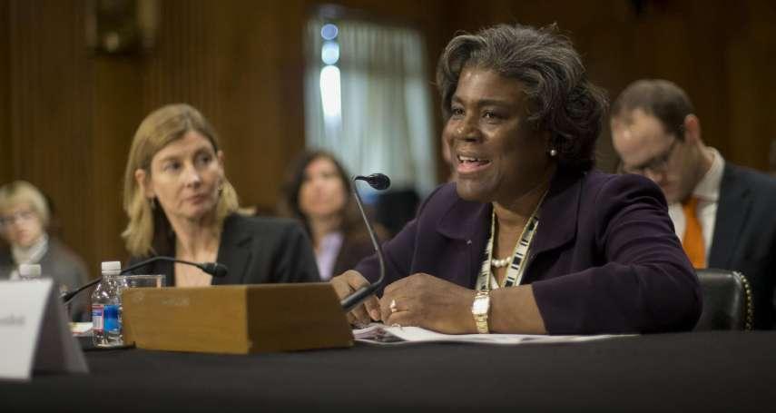 拜登新政府內閣》曾任國務院非洲事務助卿 美國駐聯合國新大使可能是她