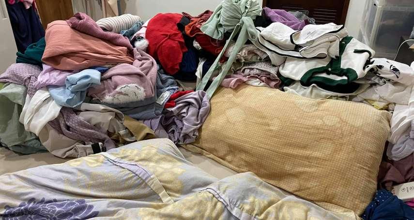 衣服多到無法整理,比囤積症更可怕?心理師教你問自己5個問題,擺脫凌亂的衣櫃