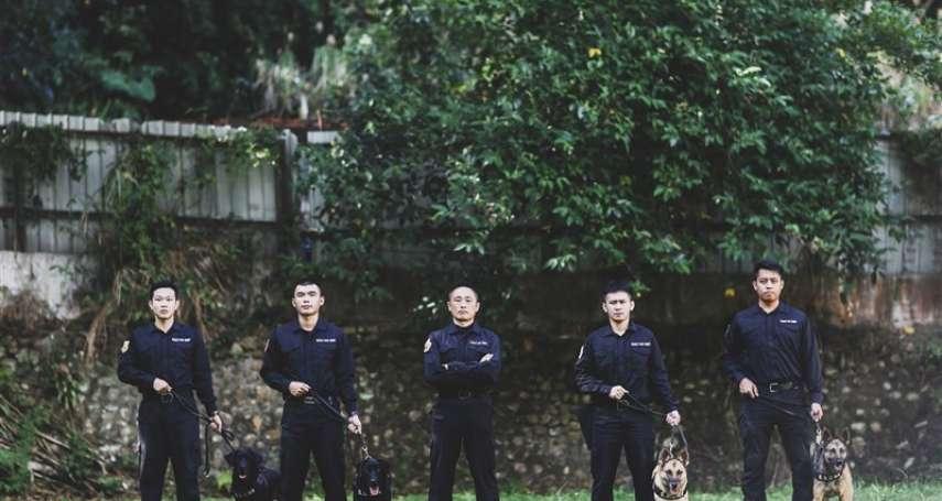 國軍唯二有狗狗單位都在憲兵 每天看似「遛狗」竟在執行重大任務