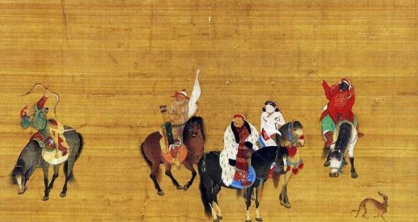 海中雄觀點:從故宮的〈元世祖出獵圖〉看蒙古的狩獵文化