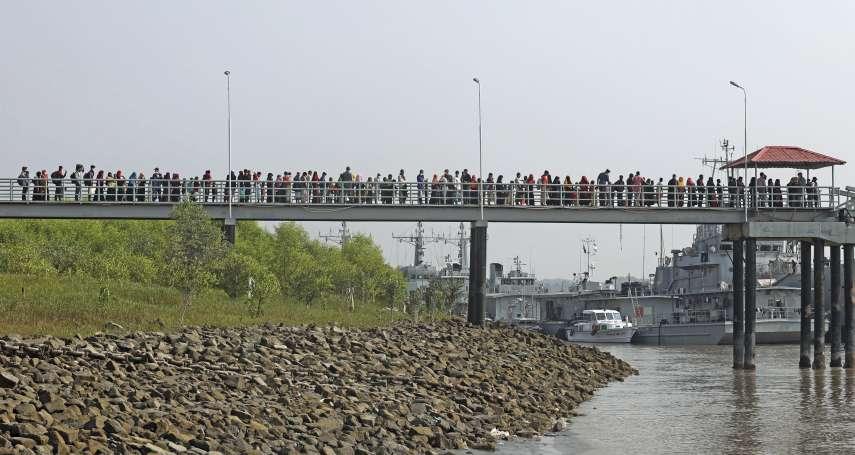 10萬人的隔離島?孟加拉重新安置羅興亞難民 目的地卻是荒涼無人沙洲