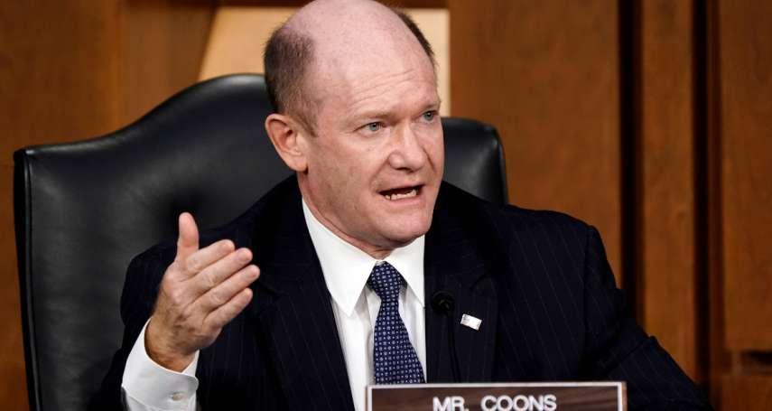 沒當上美國國務卿沒關係!與共和黨同僚關係好 昆斯成拜登「駐參議院大使」