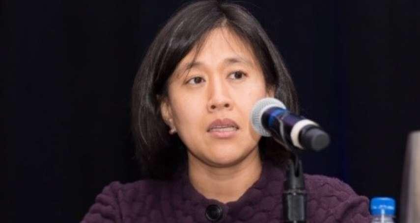 台裔女律師獲拜登提名出任美國「貿易沙皇」 戴琪:對中貿易政策應更具攻擊性!
