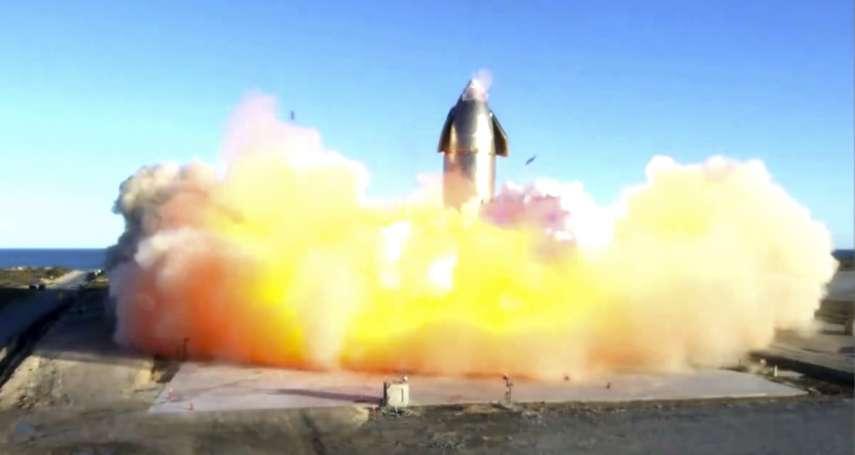 SpaceX「星艦」火箭試飛:著陸失敗炸成火球 創辦人馬斯克歡呼「火星我們來了!」