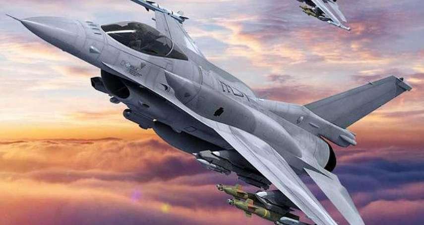 F-16V電戰莢艙定案,傳空軍購入功能強大的「它」