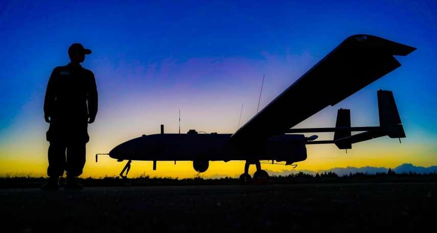 不讓美方軍武獨占 國軍現役最大無人機銳鳶訓練實況罕見曝光