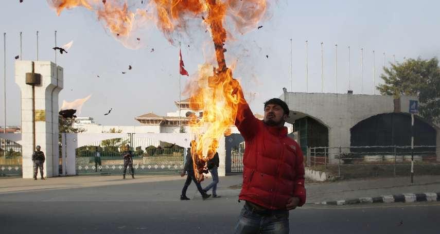 親中總理和黨內同志鬧內鬨!尼泊爾國會突被解散 中國、印度緊盯