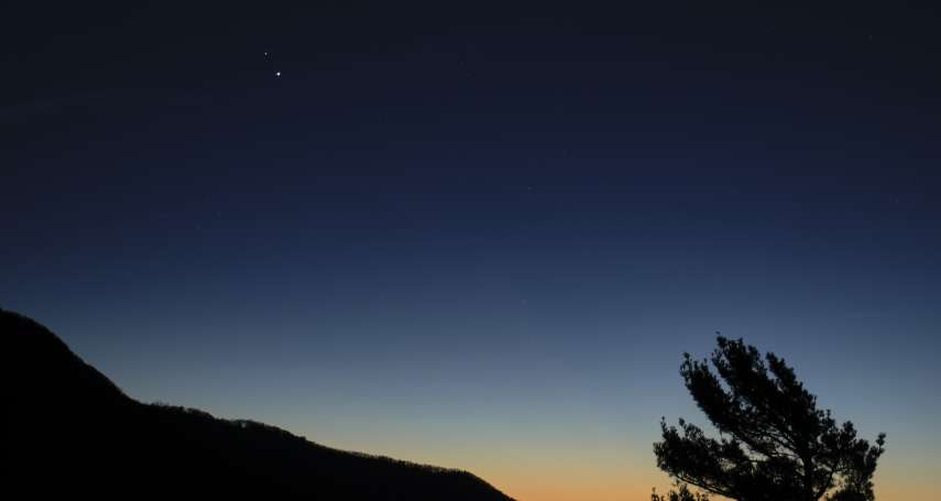 400年一遇!木星與土星同框並現 兩大行星僅差五分之一顆滿月