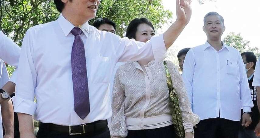獨家》國安局推薦吳敦義維安成員「被打槍」 賴清德看資歷勾選謝靜華