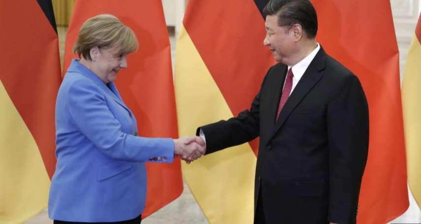 德媒解析「中德政府磋商」》梅克爾當李克強面提人權問題 美中對抗下德國站哪邊?