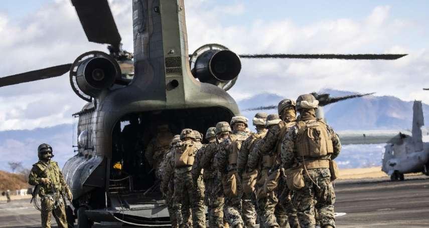 華爾街日報》第一島鏈戒備中?美國海軍陸戰隊在日本加強訓練,準備應對中國軍事挑戰