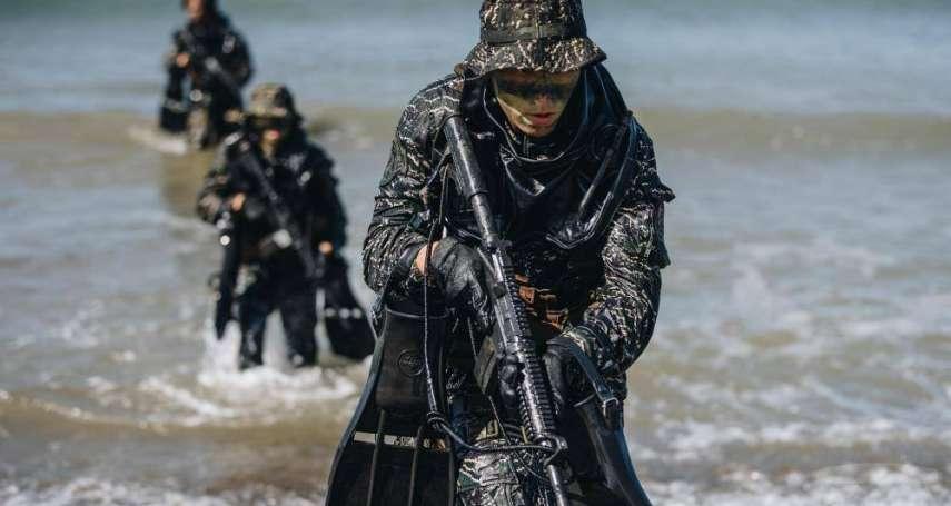 比蛙人更高端特種部隊「水中爆破班」曝光 罕見專業戰技全都露