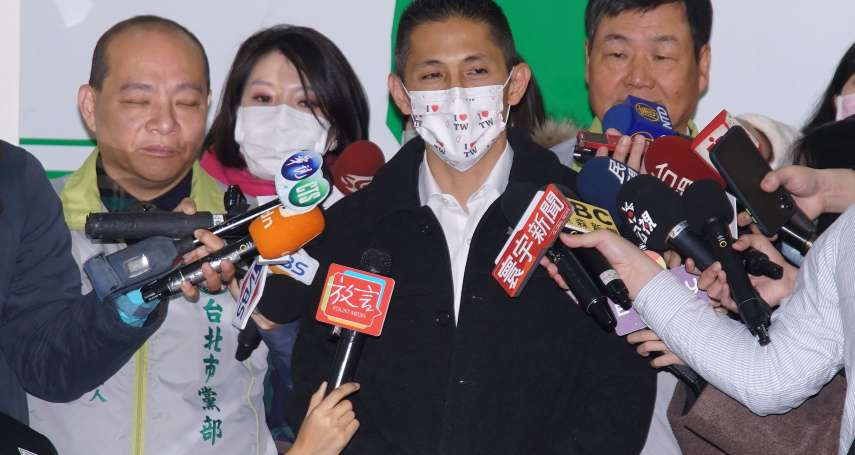吳怡農當選民進黨台北市黨部主委 2指標創史上新低