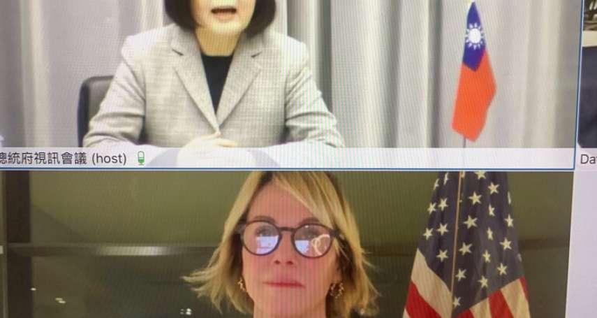 「並肩當民主支柱」 美駐UN大使克拉夫特無緣訪台 改以視訊與蔡英文對話