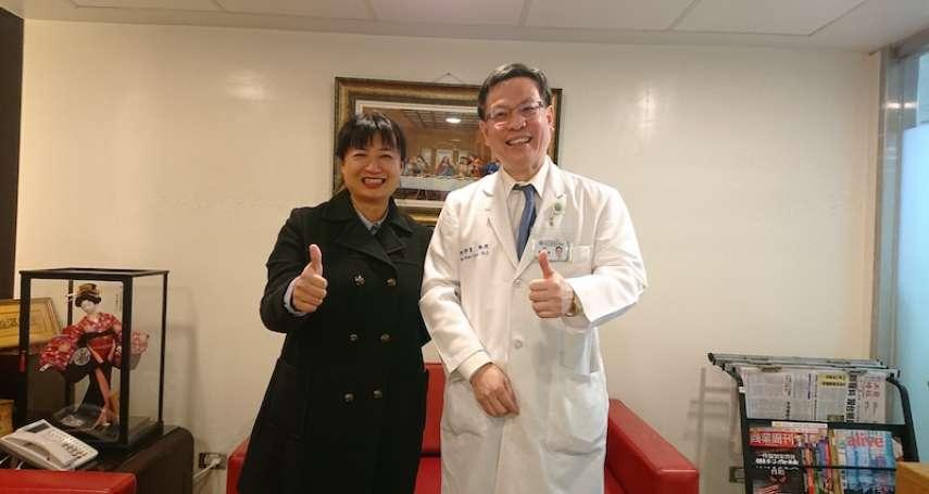 整合中台灣醫療資源 蔡培慧協調大型醫院進駐南投