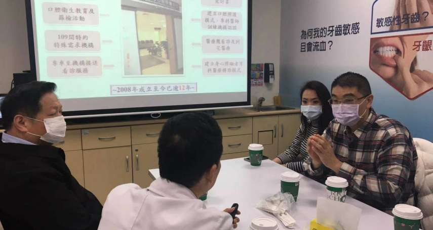 幕後》為女兒退出政壇3年 謝國樑赴立院陳情基隆2萬身障者看牙問題
