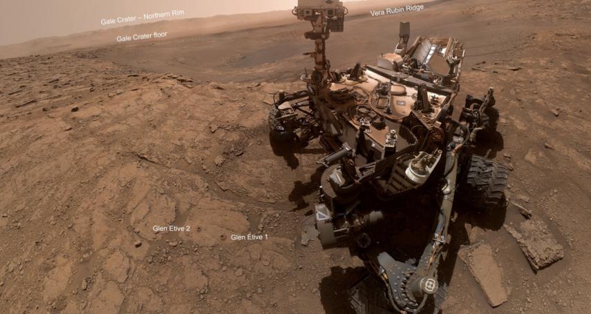 NASA火星探測3000天:「好奇號」登陸火星8年,「紅色星球」上有哪些奇異景觀