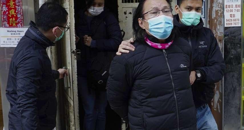 香港又傳大抓捕!疑協助12港人偷渡台灣 黃國桐律師等11人被抓,連老母親也被帶走