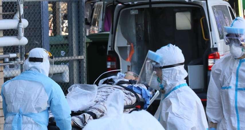 群聚感染爆不停 指揮官曝部桃「沒有綠區了」:改1人1室專責病房