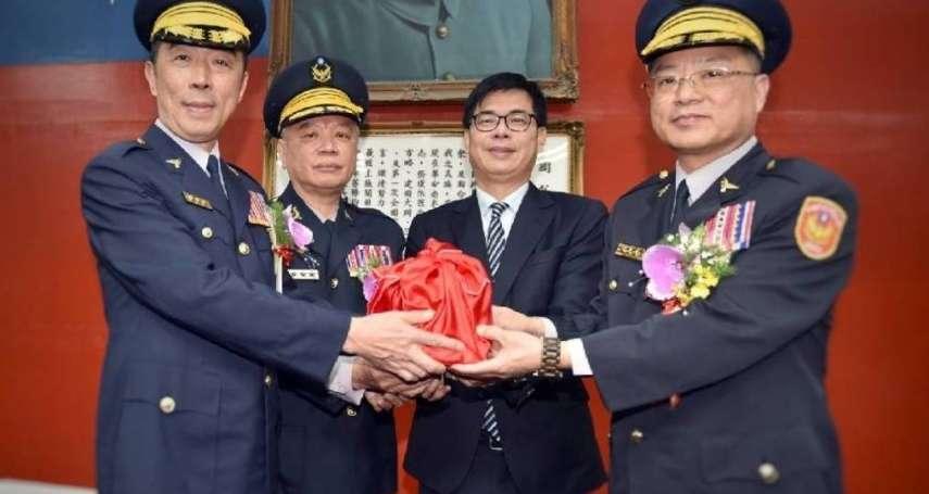 黃明昭接任高市警局長 綠營流派煙硝隱現  陳家欽是最大嬴家