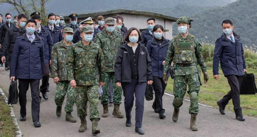 視導山區國軍 蔡英文:大家完美執行勤務,就是三軍統帥最開心的事