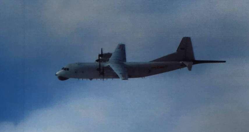 空軍證實4共機擾台 除了運-8這型戰機來2架